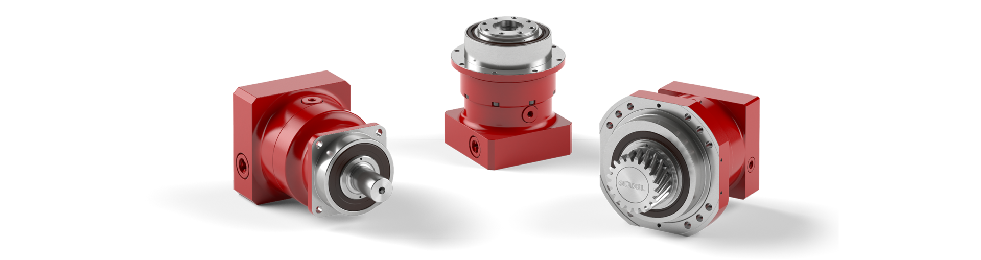 Planetary gear with optimized helical toothing | © Güdel Group AG