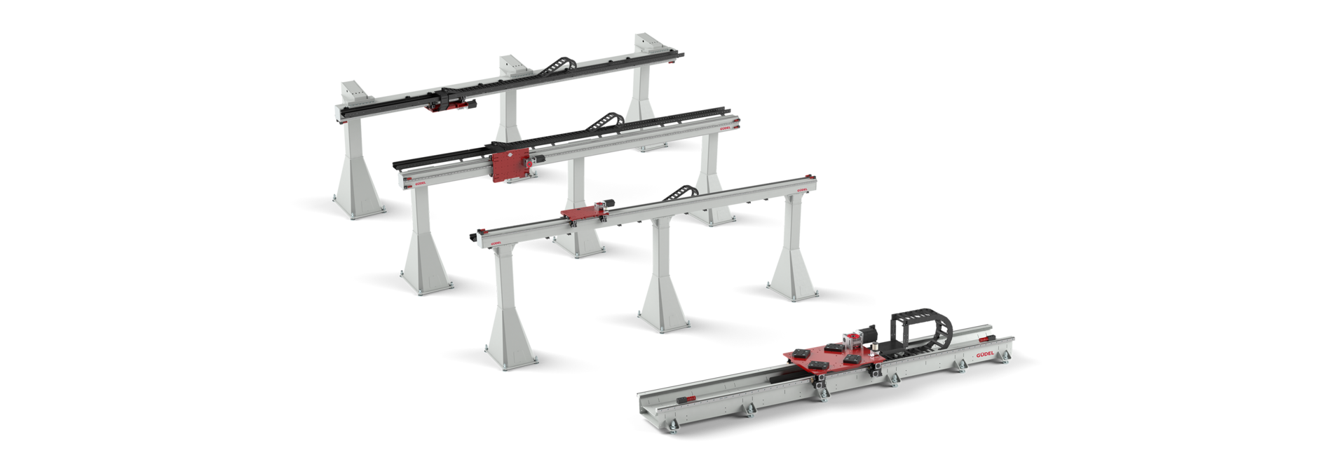 linear axis, single-axis, multi-axis, rack drive, belt drive, highly dynamically, very precisely, extremely quietly, robot rtu, rtu, gantry robot, gantry system, cnc gantry | © Güdel Group AG