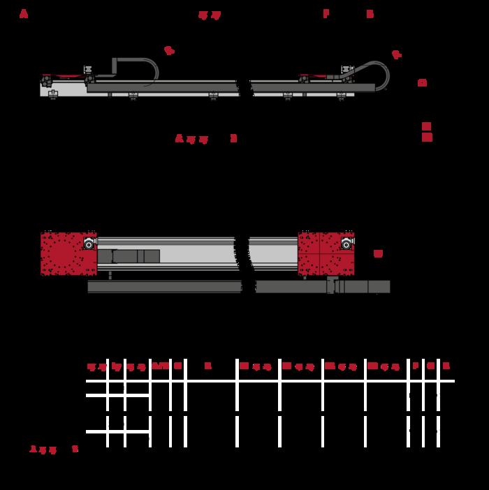 Linear Traversing Axis TMF